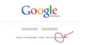 bahasa bali di google