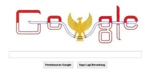google ikut rayakan hut ri ke 68
