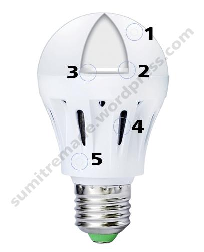 Spesifikasi Lampu StarkLED